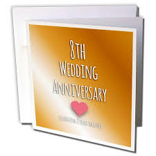 eighth anniversary gift popular anniversary cards for inspirationzstore occasions 8th