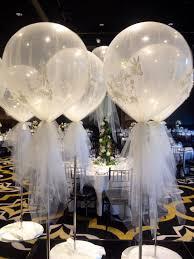 giant 3ft balloon wrapped in tulle wedding pinterest wraps