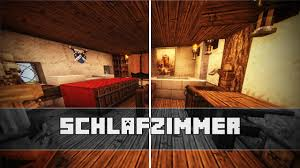 minecraft schlafzimmer schlafzimmer mittelalterliche einrichtung minecraft tutorial