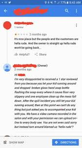 50 tv amazon black friday reddit a nail salon owner responds to a 1 star review quityourbullshit