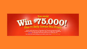 instant win gift cards pepperidge farm instant win win 75 000 75 gift card or a