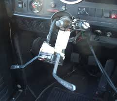 steering column work
