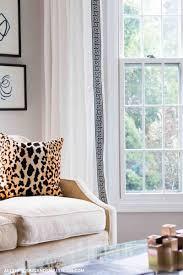 Diy Living Room Ideas On A Budget Diy Greek Key Curtains