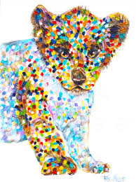 Cushion Pets African Love Tracey Keller Pet Portrait Artist Paintings