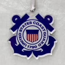 coast guard ornaments