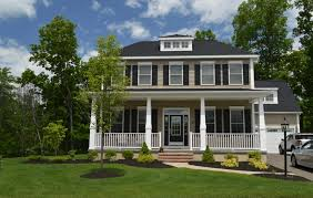 colonial home builders lenox style colonial home north ridge home builders