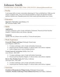 Online Resume Creator by Resume Overview Examples For A Resume Chandler Mcleod Perth Job