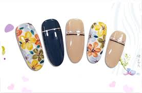 summer color gel perfect nail art design of oulac lacquer gel