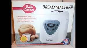 betty crocker bread machine youtube