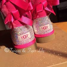 ugg bailey bow pink sale 20 best ugg boots images on winter boots casual
