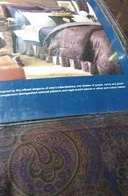 Ralph Lauren Comforter Set Chaps Ralph Lauren Preston Paisley King Comforter Set 4p Purple