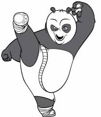 free kung fu panda coloring pages cartoon kids coloring pages