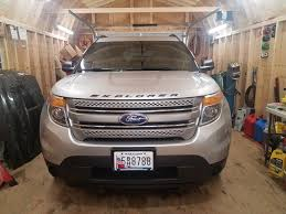 Ford Explorer Blacked Out - explorer mods have started ford explorer and ford ranger forums