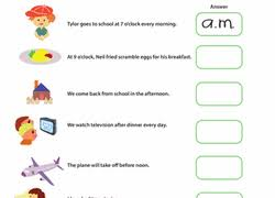 time worksheets u0026 free printables education com
