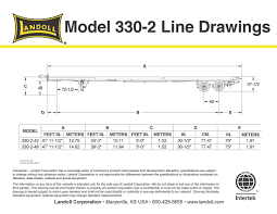 30 Feet In Meter by Landoll Corporation Products Transportation 330c 2