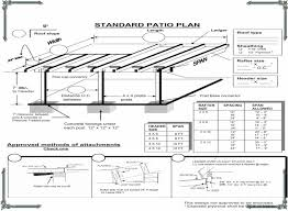 Free Patio Cover Blueprints Diy Patio Cover Plans Do It Your Self