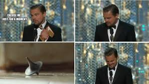 Leo Oscar Meme - leonardo dicaprio finally won an oscar or did he tor com