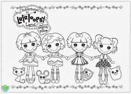 lalaloopsy coloring pages