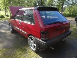 subaru justy subaru justy nelikko justy hatchback 1988 used vehicle nettiauto