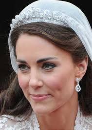 kate middleton wedding tiara hrh catherine duchess of cambridge on wedding day april 29
