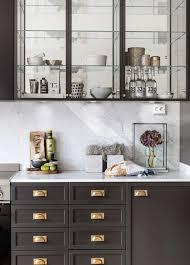 Brass Kitchen Cabinet Hardware Grey Kitchen Cabinets Brass Hardware Quicuacom 6 Kitchen Exposed