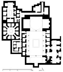 museum floor plan dwg floor plan of arghun maristan aleppo archnet
