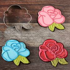 amazon com rose flower cookie cutter by lilaloa ann clark 4