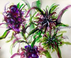 Japanese Flowers Paintings - 228 best drawing and painting plants and flowers at the city lit
