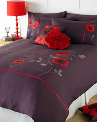 Red Duvet Set Red Duvet Cover Shop For Cheap Home Textiles And Save Online