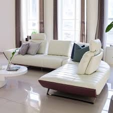 Livingroom Sofa by Online Get Cheap L Shape Leather Sofa Aliexpress Com Alibaba Group