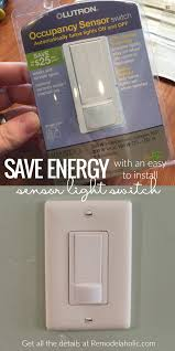 Bathroom Occupied Light Remodelaholic Automatic Light Switch
