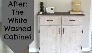 how to whitewash wood cabinets painting furniture the white washed cabinet crafting a green world