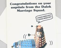 doctor who congratulations card doctor who wedding etsy