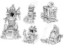 artstation crash bandicoot fan game sketches remi metral