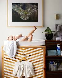 Changing Table Shelves by 19 Ikea Hacks For The Nursery Brit Co