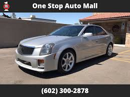2006 used cadillac cts v at one stop auto mall serving phoenix az