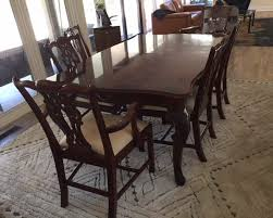 Traditional Dining Room Tables Traditional Dining Room Set By Thomasville Manor Born Estate Sales