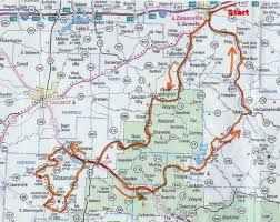 Zanesville Ohio Map by Se Ohio Self Guided Rides