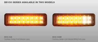 24vdc led indicator light 230rv18 br150aw front bull bar led light with park indicator