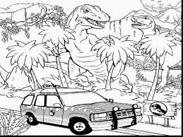 outstanding velociraptor dinosaur coloring pages with jurassic
