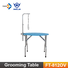 dog grooming table for sale ft 812ov oval top stainless steel dog grooming table selling dog