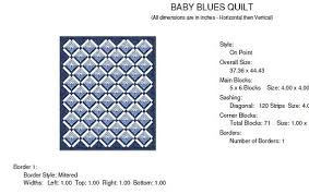 baby blues log cabin quilt pattern traditional and strip quilting