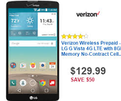 best verizon phone deals black friday 129 99 verizon wireless prepaid lg g vista 4g lte with 8gb