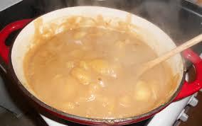 cuisine roux recette patate au roux 750g