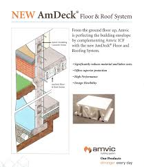 roof and floor system icf u0027s construction pinterest