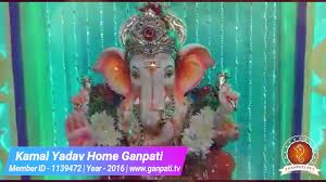 Home Ganpati Decoration Kamal Yadav Home Ganpati Decoration Video U0026 Ideas Www Ganpati Tv