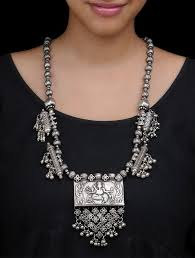 silver vintage necklace images 57 best amrapali images jewelery jewels and silver jpg