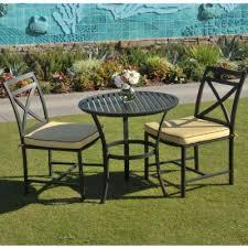 Aluminium Bistro Chairs San Cast Aluminum Bistro Set 3 Ca 8074 Bis1 Cozydays