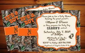 free camo baby shower invitations templates the unique camo baby