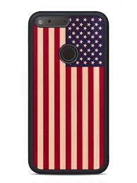 Usa Flag Photos Usa Flag Print Google Pixel Xl Traveler Wood Case Custom Wood